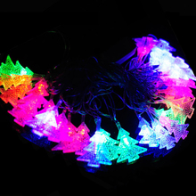 Colorful Christmas Tree LED String 4M 20Leds Fairy String Light Christmas Lights Garlands For Garden Holiday Wedding Party