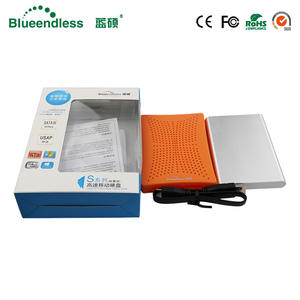 Big Large-Capacity Hdd-Case Hard-Disk SATA Usb-3.0 Encryp 750G/320G Security Included