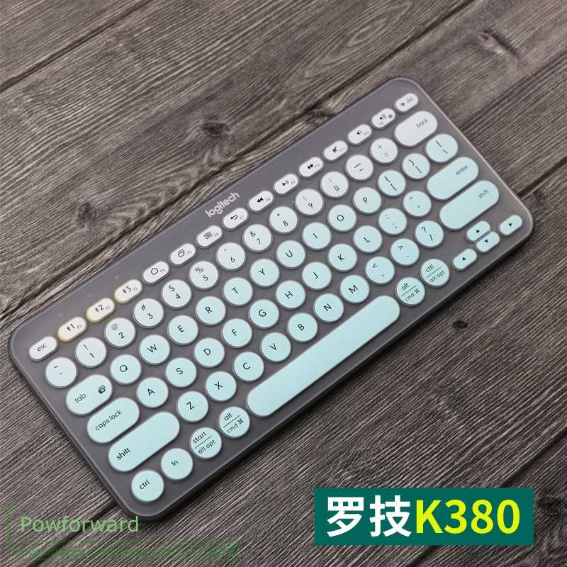 Silicone Keyboard Cover Protective film  For logitech K380 K 380 multi-device Bluetooth keyboard mechanical skin Protector