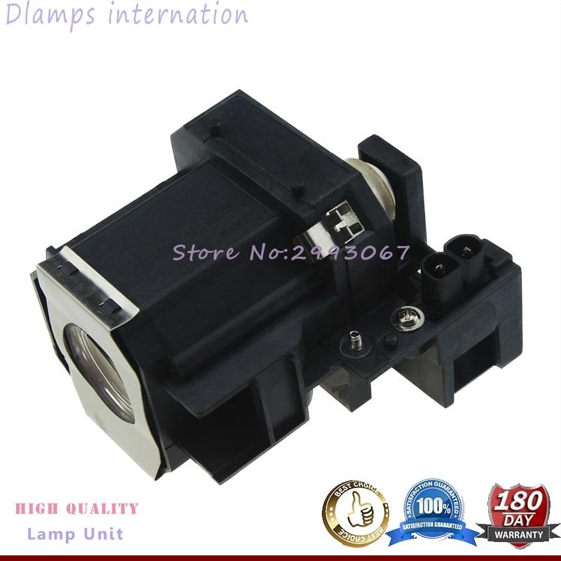 Kostenloser Versand ELP35 V13H010L35 Replacment Projektorlampe mit Gehäuse für EPSON EMP-TW520 / EMP-TW600 / EMP-TW620 / EMP-TW680