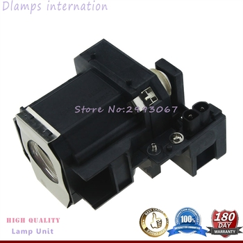 Free Shipping ELP35 V13H010L35 Replacment Projector Lamp with Housing For EPSON EMP-TW520 / EMP-TW600 / EMP-TW620 / EMP-TW680 free shipping lamtop compatible projector lamp with housing cage for emp 810