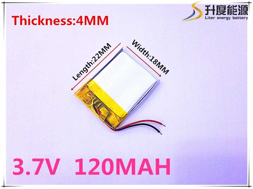Computer & Büro Größe 401822 3,7 V 120 Mah Tablet Batterie Mit Schutz Bord Für Gps Tablet Pc Digitale Produkte SorgfäLtige FäRbeprozesse