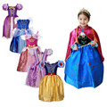 3-10 YRS Cinderella dress girls Dress cartoon snow white Cosplay Dress kid vestidos infants Dress Princess Costume for Children
