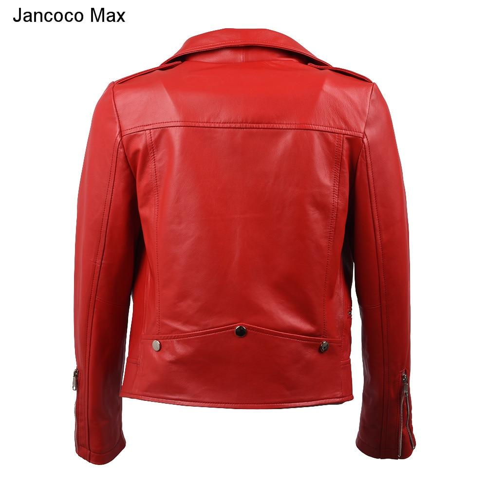 Classique Femmes Printemps Manteau Cuir Veste Nouveauté Automne De Vêtements Black Noir 2019 S8004 Max Véritable Jancoco En gqvPw