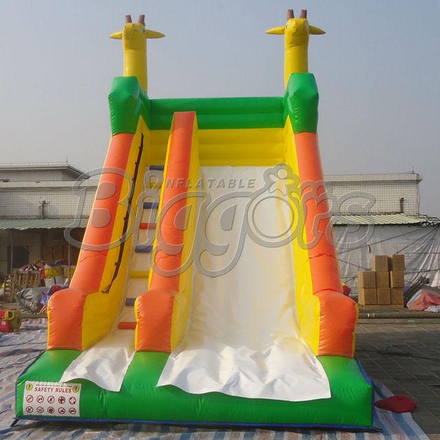 Grande Material de PVC Slide Inlfatable Para Os Jogos Das Crianças
