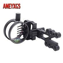 1pc Archery Compound Bow Sight Micro Adjust 5Pin 0.019