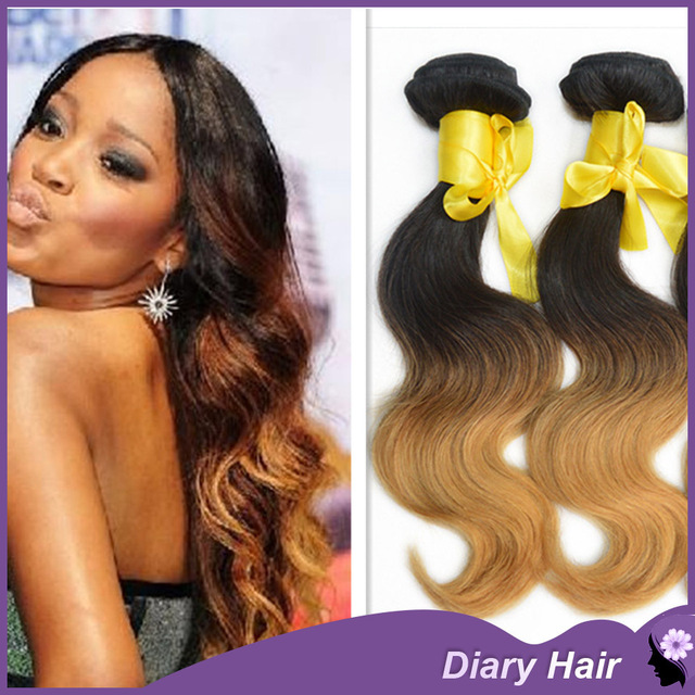 Admirable Malaysian Ombre Virgin Hair Body Wave 6A Top Unprocessed Two Tone Hairstyles For Men Maxibearus