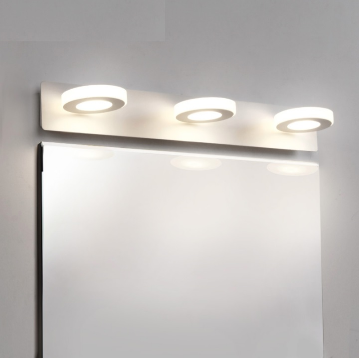 Italy Design 3 Light Bath Bar In Metal Body, Bathroom Vanity LED Lighting Fixture-in Wall Lamps