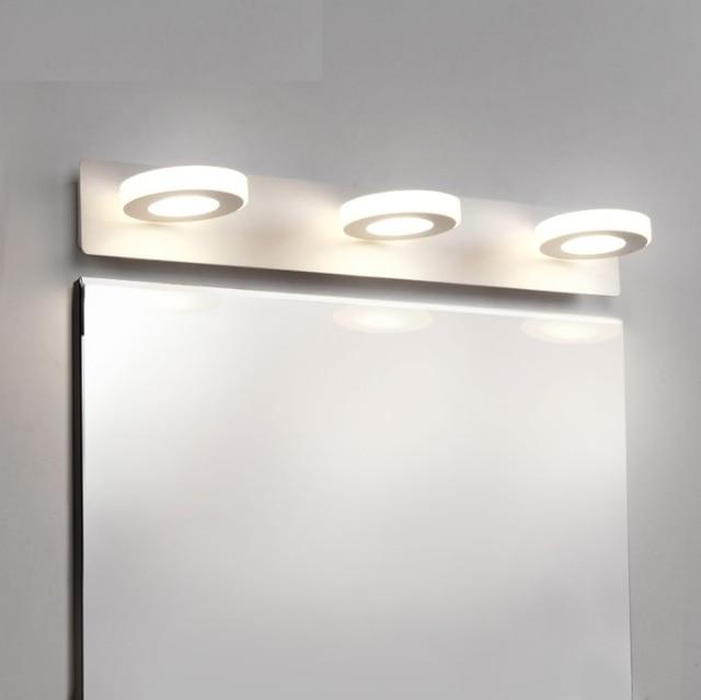Italy Design 3 Light Bath Bar In Metal Body, Bathroom Vanity LED Lighting  Fixture