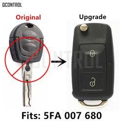 Qcontrol Обновить Автомобиль удаленный ключевой для Seat Alhambra/Ароза/Кордова/Ибица/Леон/Толедо 5FA 007680