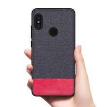 CoolDeal for Xiaomi Redmi Note 5 case Redmi Note5 Global Version back cover soft silicone edge fabric case for Redmi Note 5 Pro