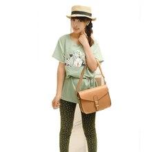 Nouvelle marque de mode coréenne sacs à main couleur bonbon boucles PU en cuir colombie Package rétro collège vent sac à bandoulière