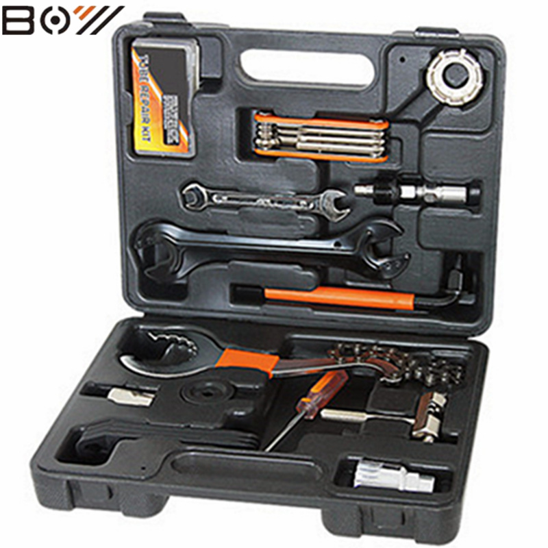 Bicycle repair tools for the maintenance of mountain bike repair tool combination tool Kits bike Multifunction repair tool Suits 44pcs set mountain bike patchs maintenance repair box diagnostic tools kit valuables cycling chain case bicycle accessories