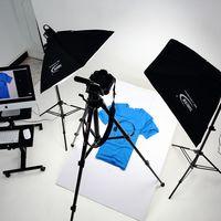 Kit foto caixa de luz para fotos 4 soquete base da lâmpada softbox fotografia conjunto luz softbox luz fotografia conjunto luz lâmpada cd50