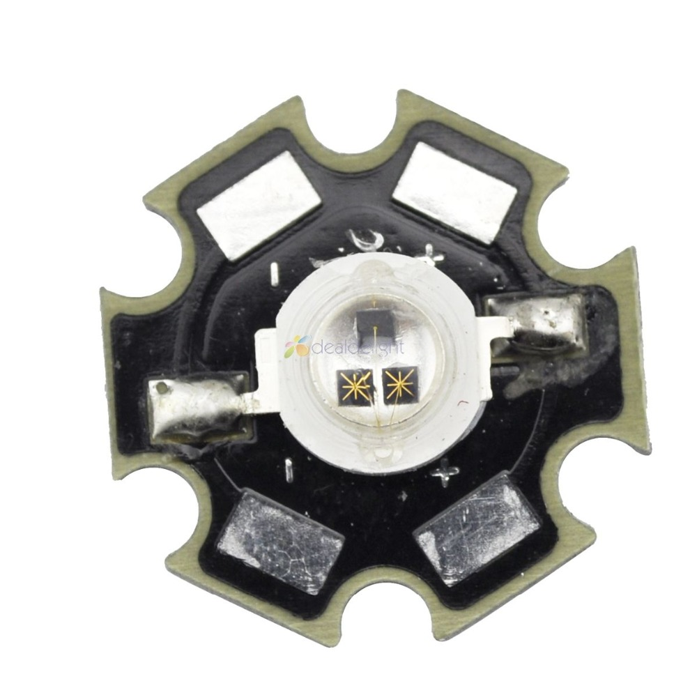 3W Infrared IR 850NM High Power LED Bead Emitter DC1.5-1.7V 1500mA With 20mm Star Platine Base