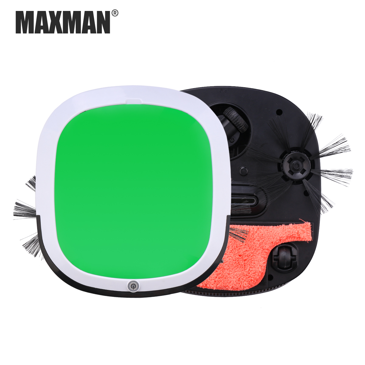 MAXMAN Robot Vacuum Cleaner 300Pa Suction Cyclic Charging for Home Sweeping Dust Mopping for Wood Floor Robot Vacuum smart sweeping robot vacuum cleaner for home ultrathin grazing mopping integrated machine free shipping