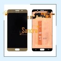 New brand 1pcs 1920*1080 LCD Display For Samsung Galaxy Note 5 N9200 N920T N920A N920I N920G lcd+Touch Screen Digitizer assembly