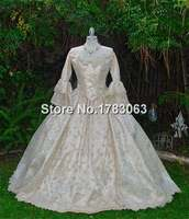 Ultimate Fantasy Marie Antoinette Lace Back 3pce Gown/Southern Belle Gown Reenactment Theater Costume