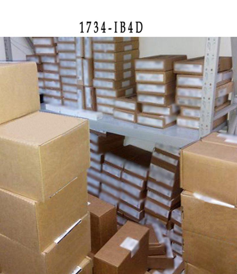 NEW 1734-IB4D 1734-1B4D industrial control PLC module 2pcs 1pcs om e2e x3d1 m1g 5pf7 plc automation plc module industry industrial use d