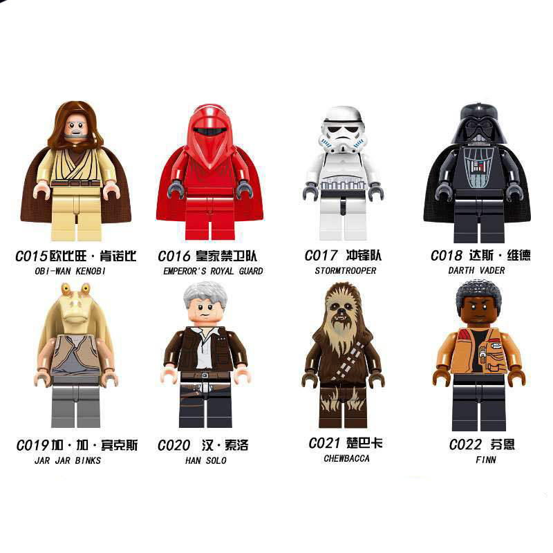 Blocks Legoing Star Wars Figures Sith Trooper Grievous Han Solo Maz Anakin Darth Vader Yoda Starwars Building Blocks Toys Squishy Jm63 Delaying Senility Toys & Hobbies