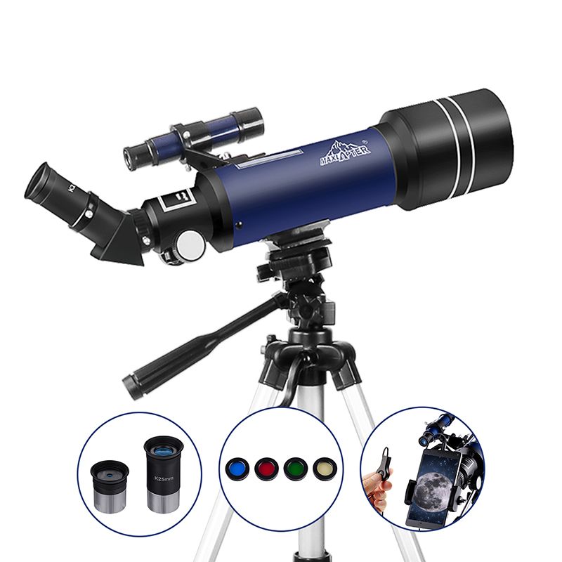 Starter Astronomy Telescope for Kids Teenagers Adults with Tripod Eyepieces Phone Adapter 16x 66x Magnification Moon FinderStarter Astronomy Telescope for Kids Teenagers Adults with Tripod Eyepieces Phone Adapter 16x 66x Magnification Moon Finder