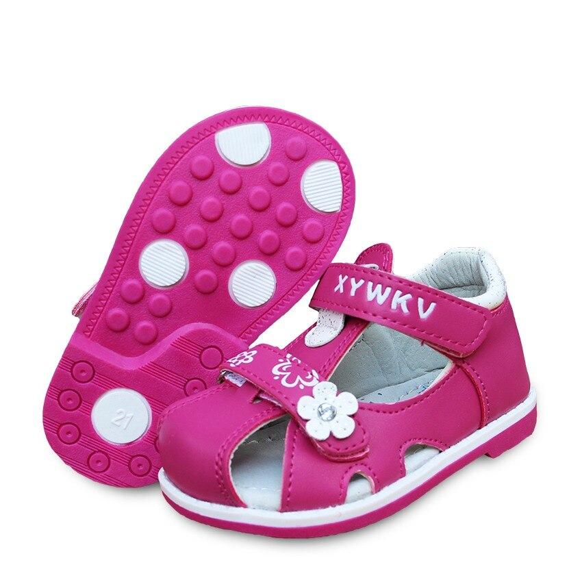 e53b4a75797e1 Nouvelle mode 1 paire enfants chaussures orthopédiques soutien de l arc  fille PU cuir sandales