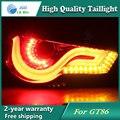 Car LED Tail Light Parking Brake Rear Bumper Reflector Lamp for Toyota GT86 Red Fog Stop Lights Car styling