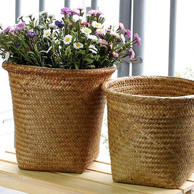 Decorative Seaweed Storage Basket