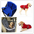 Waterproof Car Seat Cover for Pet Dog Portable Puppy Bag Safety Leash and Clip-on Zipper Storage Pocket for Travel Storage Bag