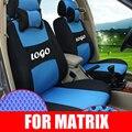 Заказ автомобиля чехлы для hyundai matrix крышка сиденье протектор сетка автомобильные чехлы на сиденья интерьер аксессуары для автомобилей styling with logo