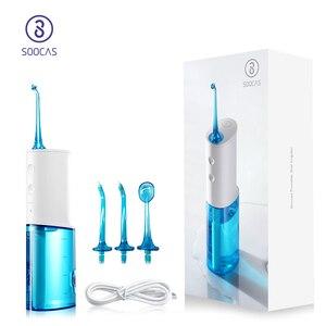 Image 1 - SOOCAS W3 נייד אוראלי משטף שיניים חשמלי מים Flosser מקורי Jet Nozzle טיפים נוסף החלפה אוראלי ניקוי