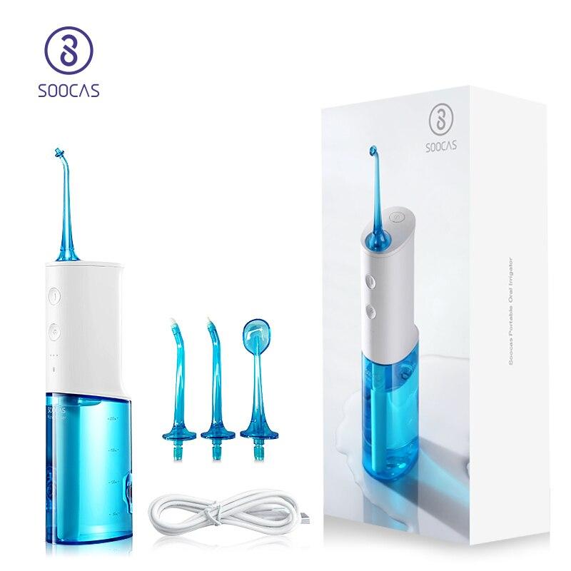 SOOCAS W3 irrigateur Oral Portable dentaire dentaire électrique Flosser Jet Original buse conseils remplacement supplémentaire nettoyage des dents Xiaomi
