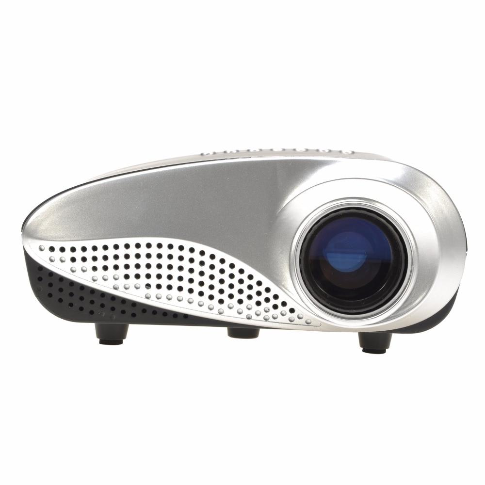 2017 A Estrenar LED Teatro PC Portátil de Alta calidad Mini Reproductor Multimed