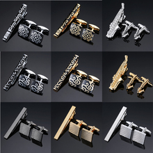 Novelty High Quality Cuff links necktie clip for tie pin for