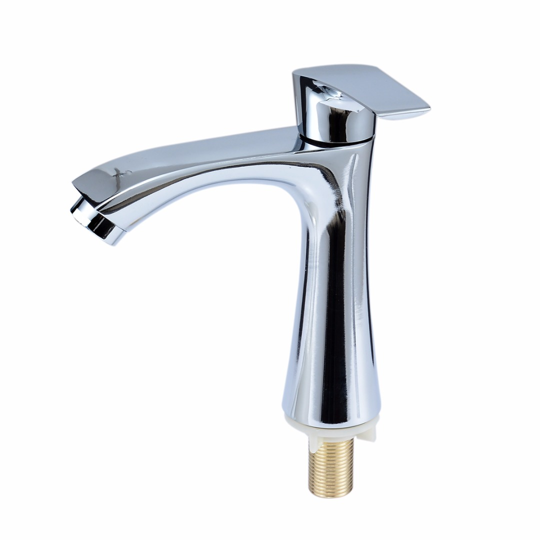 One Handle One Hole Sink Tap G1/2\'\' Deck Mount Kitchen Sink Faucet ...