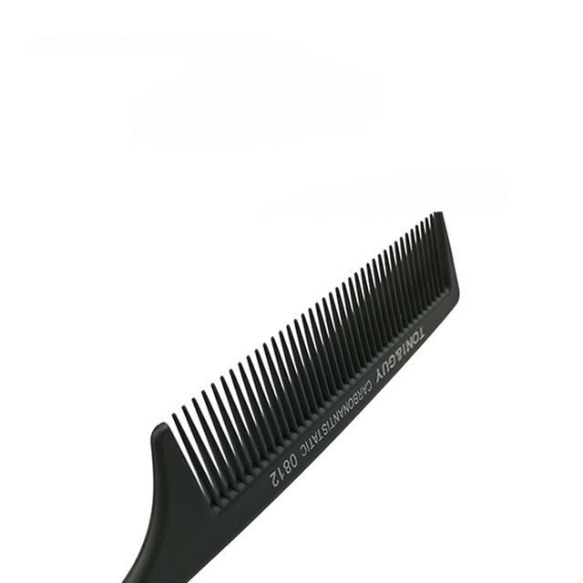 Good Quality Salon Hair Comb Fine-tooth Comb Metal Pin Anti-static Hair Style Tools 1pcs Black Color Buy 5 get 1 free