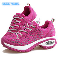 2017 Running Shoes For Women Sport Shoes Air Cushion Woman Sneakers Outdoor Walking Jogging Non Slip