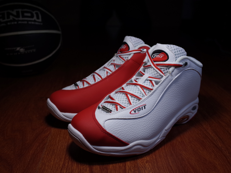 Men professional basketball shoes VOIT TAICHI MID basketball sneakers male sports shoes breathable shockproof athletic zoom air