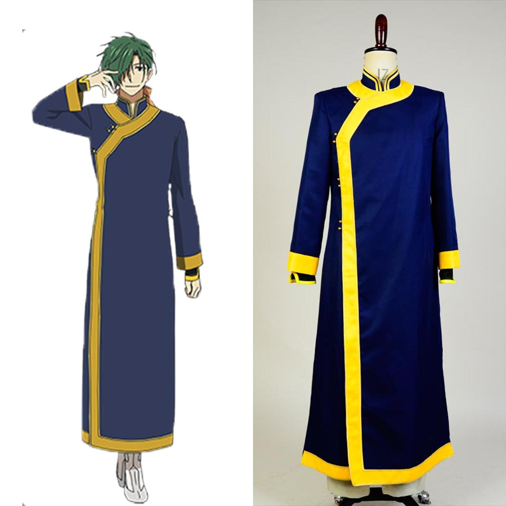 Yona of the Dawn Akatsuki no Yona Jae Ha Green Dragon Cosplay Costume Halloween Carnival Costumes For Adult Men Women Dress