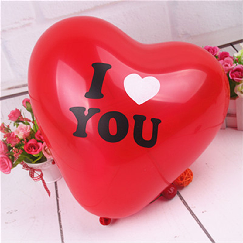 50 pcs heart engagement anniversary weddings valentine balloons i, Ideas
