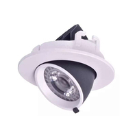 New Dimmable LED Downlight 10W 12W 15W 20W 24W AC 85 265V COB LED DownLights Dimmable