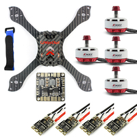 Threel X 3K Removable DIY Kit Frame RS2306 2750KV 30A ESC Brushless Motor With PDB For FPV Racing Drone Quadcopter