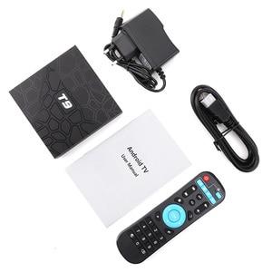 Image 5 - Global TVBOXทีวีสมาร์ทAndroid 9.0 TV BOX T9 4GB RAM 64GB/32GB ROM Rockchip 1080P H.265 Youtube Media Player 4Kชุดกล่องด้านบน
