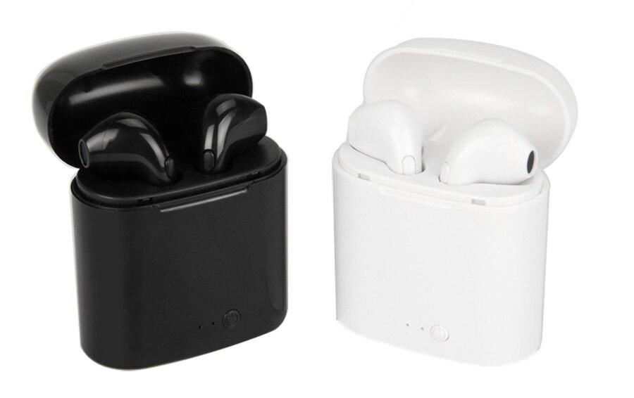 Auricular inalámbrico Bluetooth i7 tws Auriculares auriculares con micrófono para iPhone Xiaomi Samsung Huawei LG I7 i7s TWS