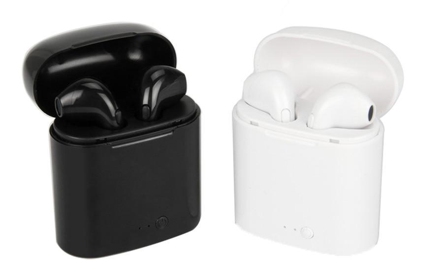 Drahtlose Hörer Bluetooth i7 tws Kopfhörer Ohrhörer Headset Mit Mic Für Telefon iPhone Xiaomi Samsung Huawei LG I7 i7s TWS