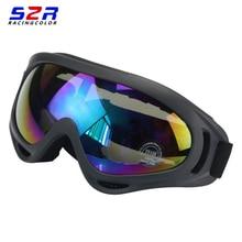 S2R Motocross Goggles Óculos Gafas Oculos Ciclismo MX Off Road Capacete De Esqui Esporte Ao Ar Livre Para A Motocicleta Da Bicicleta Da Sujeira Corrida Óculos
