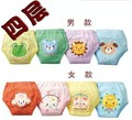 Baby Diaper waterproof Reusable Panties 4 Layer absorb Training shorts Toddlers Washable Nappy mix 4pcs/lot