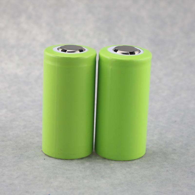 2PCS/Lot 3.7V Rechargeable 7000mAh 32650 Li-ion Batteries Battery For LED Flashlights Remote Control Toys Emergency lights