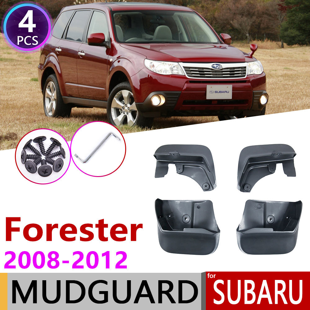 Front Rear Mudguar for Subaru Forester SH 2008 2009 2010 2011 2012 Fender Mud Flaps Guard Splash Flap Mudguards Car Accessories