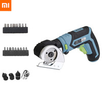 XIAOMI 4 In 1 Tonfon Multifunction 3.6V Lithium Mini Cordless Electric Screwdriver Cutter Offset Angle Right Angle Adapter Kit